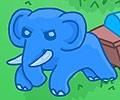 Juego de búsqueda del elefante