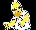 Homer simpson sah spiel