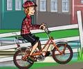 De ciclismo en amsterdam