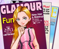 Fashion magazine january's cover