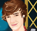 Famous singer liam payne facial