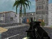 Militar de combate 3d