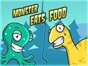 De jeu mange de la nourriture