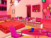 De jeux salon rose de fille